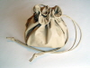 Beige Leather Dolly Bag